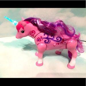 LITTLE LIVE PETS Unicorn Horn Lights, Moves,Sound